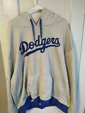 Men's Gray Stitches LA Los Angeles DODGERS MLB Hoodie Sweatshirt XL