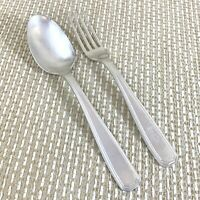 Art Deco Silver Plated Cutlery Childrens Baptism Gift Christofle French Flatware