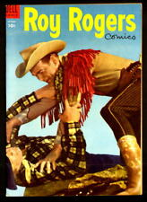 ROY ROGERS COMICS #82 NM- 9.2 w/OFF-WHITE PGS, TIGHT CF DELL WESTERN! (1954)