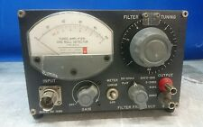 Tuned Amplifier & Null Detector; General Radio Type 1232A