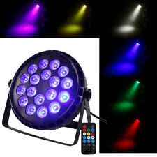 U'King 18 LED RGBW PAR CAN DMX Stage Lighting DJ Disco Party Wedding Uplighting