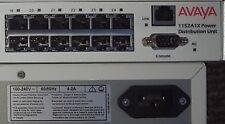 Avaya 1152A1X 24 Port Mid Span Power Distribution Unit PoE 48v Working Pull