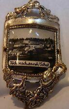 Hochenschwand used badge mount stocknagel hiking medallion G2739