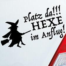 Auto Aufkleber Platz da Hexe im Anflug! Witch Fun Sticker Girl DUB OEM JDM 503