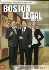 Boston Legal, Boston Justice : Seizoen 3 / Saison 3 / Season 3 (6 DVD)