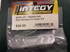 Integy T8500 Hobao Hyper 8.5 Aluminium Rear Bumper - Silver