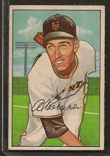 1952 Bowman Al Corwin # 121 EX-NM