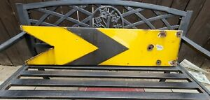 Antique British Rail Distant Signal Sign (Original)