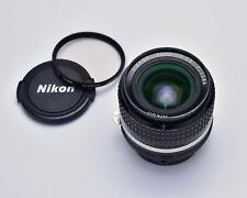 Nikon NIKKOR 24mm f2.8 Ai-S Wide Angle Lens CRC 9/9 Adapt Mirrorless (#3023)