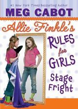 Stage Fright (Allie Finkle's Rules for Girls, No. 4) Cabot, Meg Hardcover