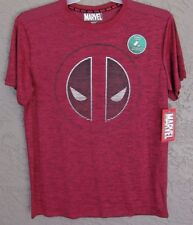 MARVEL Comics DEADPOOL Logo MAD ENGINE Shirt Size MEDIUM New With Tags!