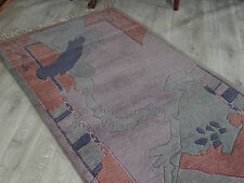 310x86 cm originale in vera Nepal Tappeto Orientale Mano intessuti Gabbeh Tappeto nr-113
