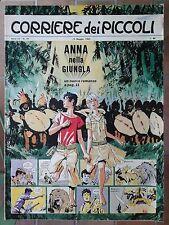 Corriere dei Piccoli N. 19 1963 pratt anna nella jungla con inserto piccolissimi