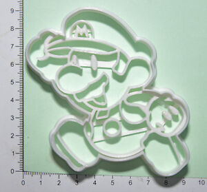Mario Cookie or fondant  Cutter 3d printed