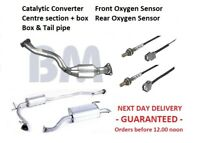 Catalytic Converter Exhaust Stolen Honda Jazz - COMPLETE EXHAUST +OXYGEN SENSORS