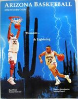 1994-95 Arizona Basketball Media Guide Paperback, Arizona Wildcats, UofA