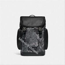 $598 NWT COACH Ranger Backpack in Signature Canvas with Camo Print F79900