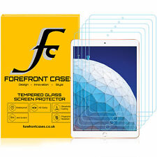 Apple iPad Air 3 Tempered Glass Screen Protector | Guard Cover HD Clear | 5 Pack