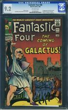 Fantastic Four 48 CGC 9.2 1st Galactus & Silver Surfer 🔥 OLD LABEL 0250053001