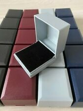 WHOLESALE JOBLOT 50 MIXED  RING BOXES JEWELLERY GIFT BOXES HINGED PACKAGING