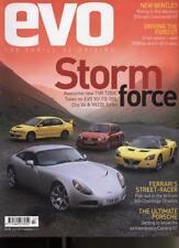 July Evo Cars, 2000s Magazines