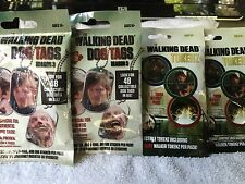 The Walking Dead Dog Tags And Tokenz Two Packs Each