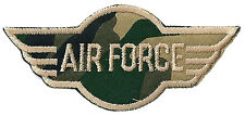 Patch écusson thermocollant patche army sergent US Air Force militaire paintball