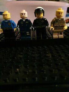 LEGO police figures