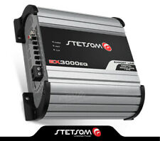 Stetsom EX3000 EQ - 1 ohm Car Audio compact Amp 3000 Watts + FREE Sticker