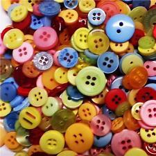 100 Small Colored Buttons Wedding Decorations Table Centerpiece Craft Art Kitsch Summer Mix