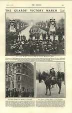 1919 Guards Victory March Through London Berkeley Picadilly