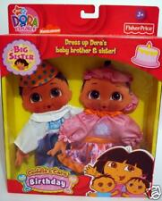 Dora the Explorer Cuddle & Care Birthday Twins Outfit
