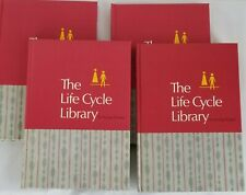 1969 The Life Cycle Library For Young People Volumes 1-4 Hardcover Books