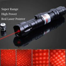 2in1 Star Cap Laser Pointer Pen Red 650nm Cat Dog Toy Visible Pattern Lazer Beam