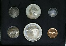 1967 Canada Proof Set 4 Silver Coins! Toning 80% Silver $1 99c NO RESERVE