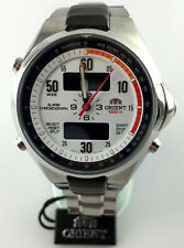 OROLOGIO  Orient VINTAGE SPORTY Analog Digital Chronograph Alarm Watch CVZ02002W