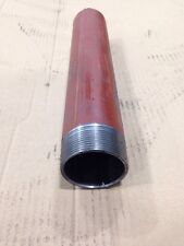 "Mild Steel Pipe Tube 2"" Bsp bs1387 Heavy 310mm Long."