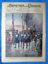 La Domenica del Corriere 22 novembre 1931 Varsavia - Tien Tsin - De la Force