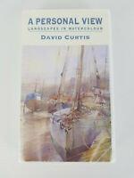 VHS Personal View Landscapes In Watercolour David Curtis NEW APV Films