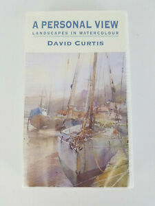 NEW  VHS Personal View Landscapes In Watercolour David Curtis APV Films