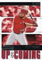 2020 CONTENDERS UP & COMING RC DYLAN CARLSON STL CARDINALS ROOKIE - B5909