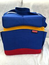 Fisher Price Travel Toy Tote Bag Storage Carry All Case Car Collapsible *