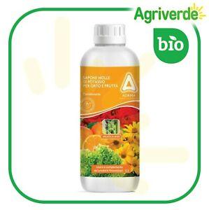 SAPONE MOLLE di potassio ADAMA orto e frutta potenzia difese vegetali 1 lt BIO