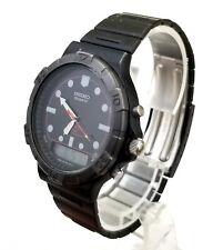 .RARE,UNIQUE Vintage Men's ANALOG-DIGITAL Watch SEIKO H461-9000. Sports 150