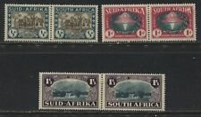 South Africa 1939 Huguenot Semi-postal set mint o.g.