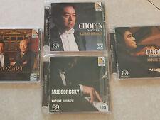 Kazune Shimizu 4 SACD Set: Mozart, Chopin, Mussorgsky-extremely rare!