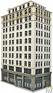 WALTHERS CORNERSTONE HO SCALE 1/87 ASHMORE HOTEL   BN   933-3764