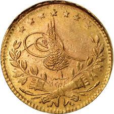 [#488359] Münze, Türkei, Muhammad VI, 25 Kurush, 1917, Qustantiniyah, SS