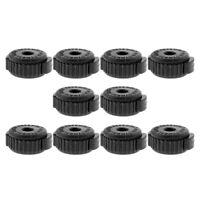 10 boutons de cymbale à libération rapide pour les remplacements de