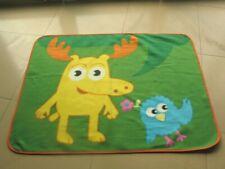 Moose A Moose & Zee set Soft Plush Blanket Noggin Nick Jr nickelodeon
